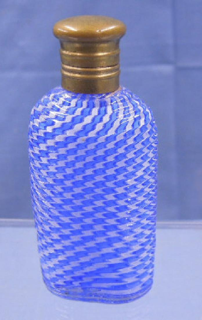 Continental Latticino Glass Scent Bottle