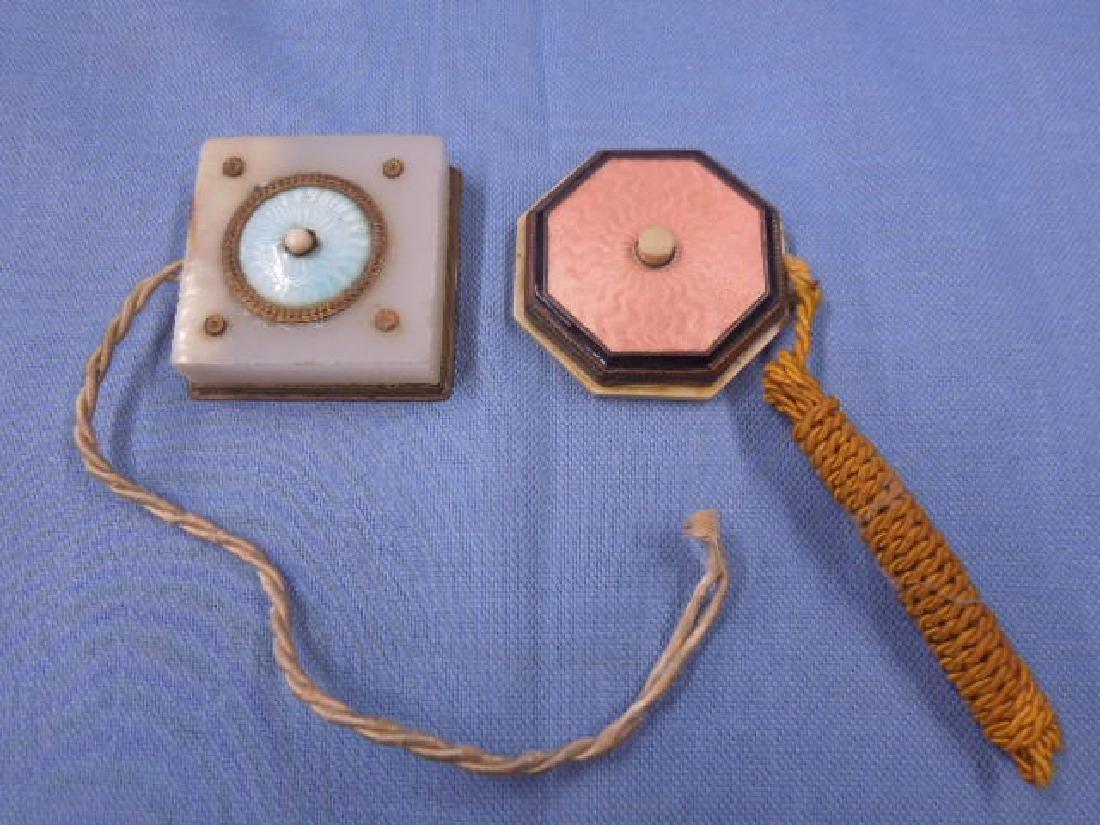 Enameled Servant's Push Bells
