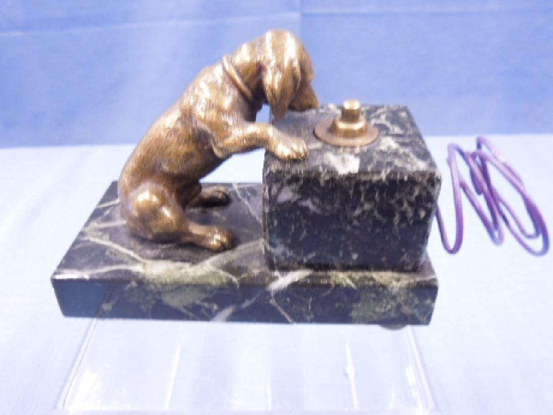 Continental Bronze Servant's Bell