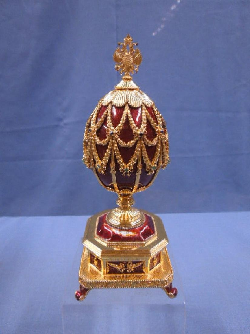 House of Faberge Imperial Eagle Egg