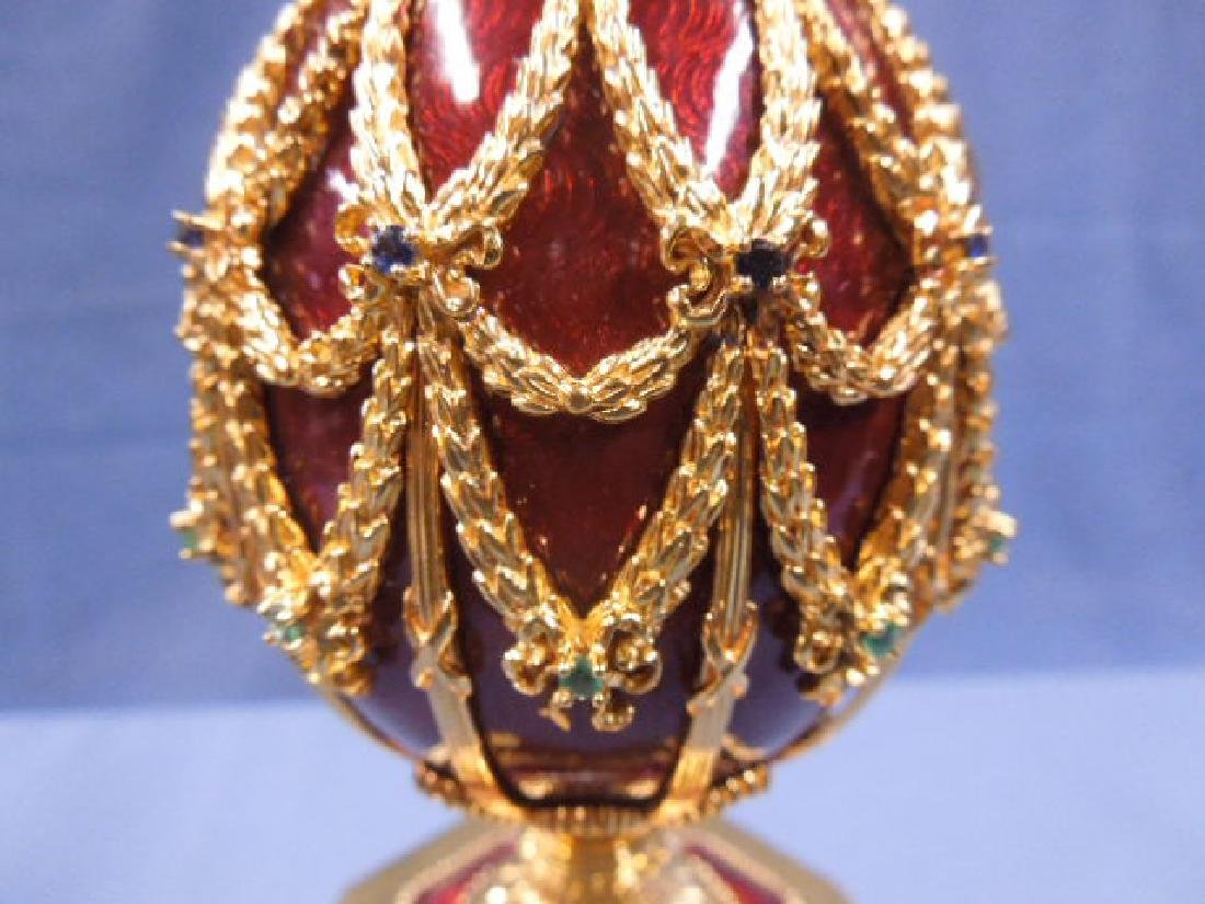 House of Faberge Imperial Eagle Egg - 2