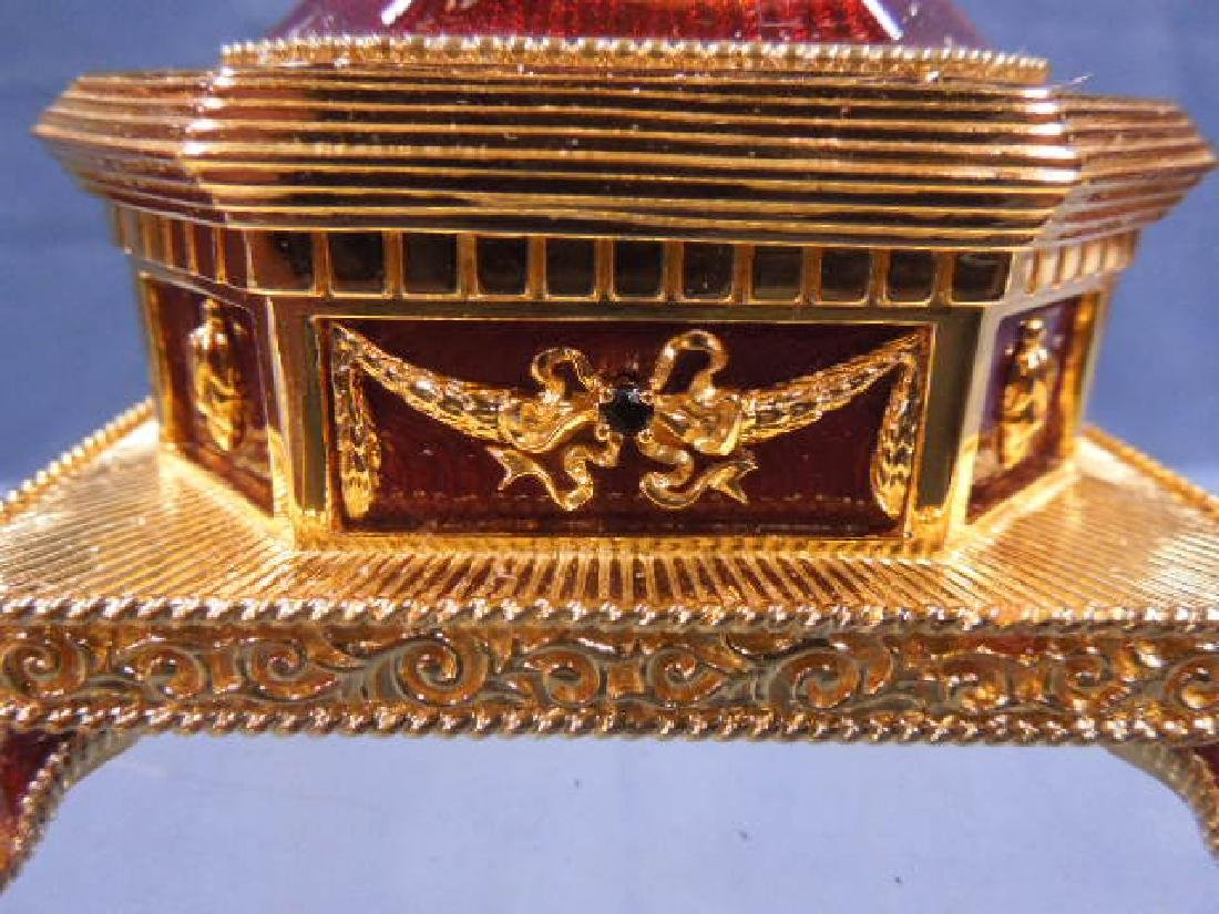 House of Faberge Imperial Eagle Egg - 3
