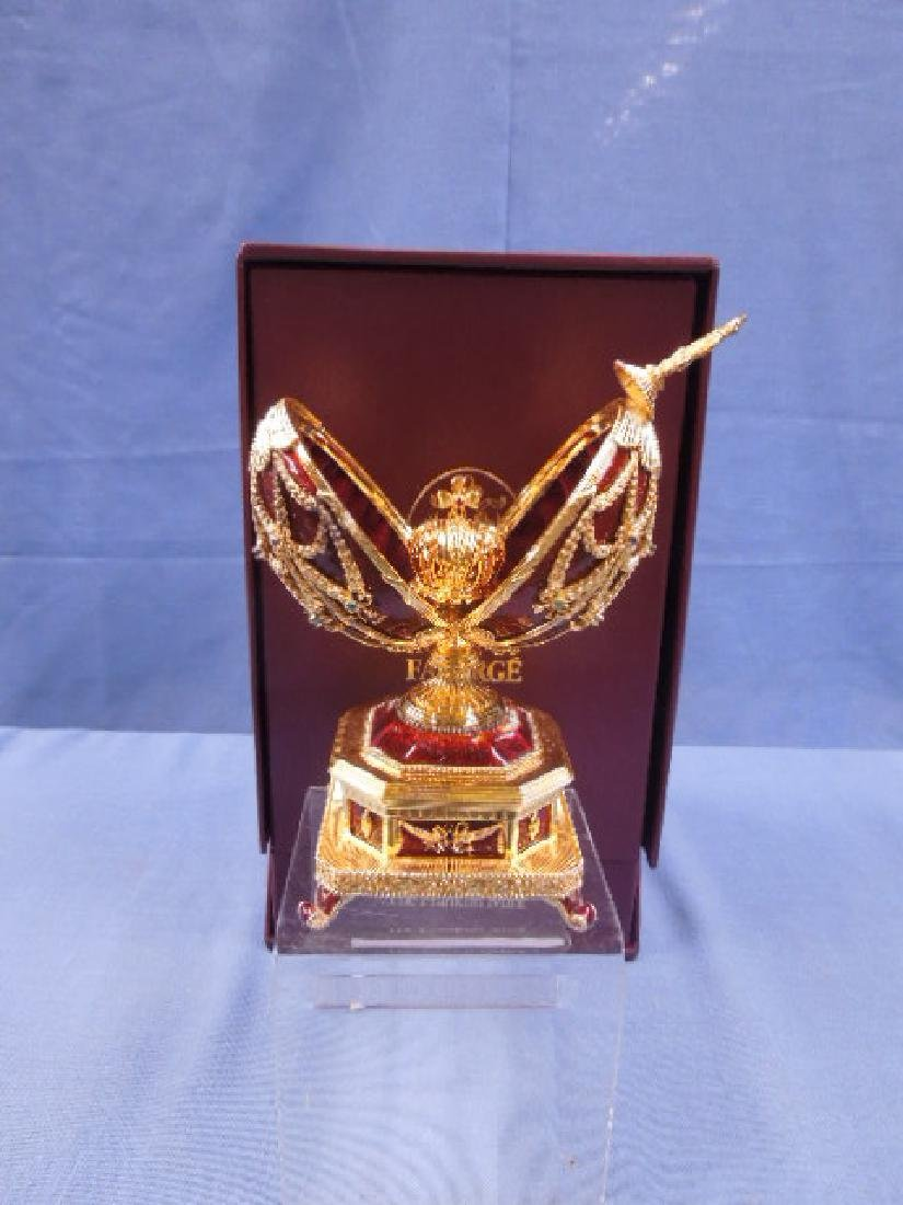House of Faberge Imperial Eagle Egg - 4