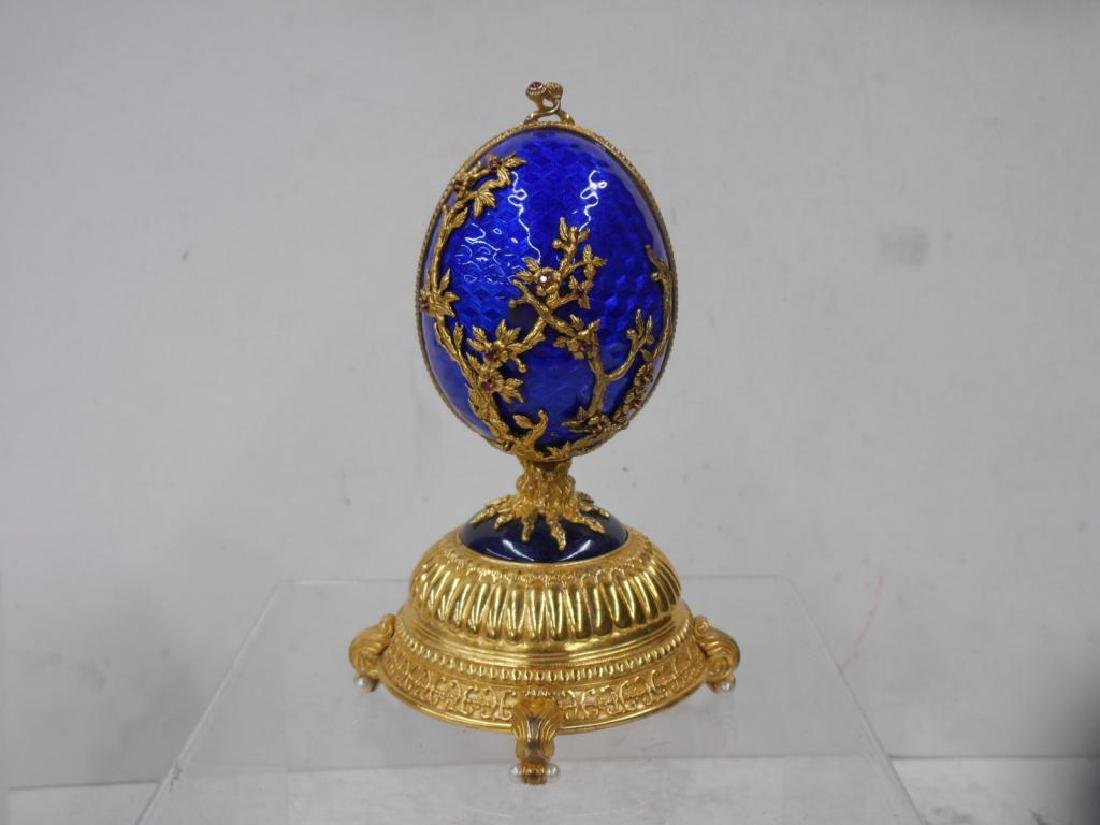 House of Faberge Firebird Imperial Egg - 3