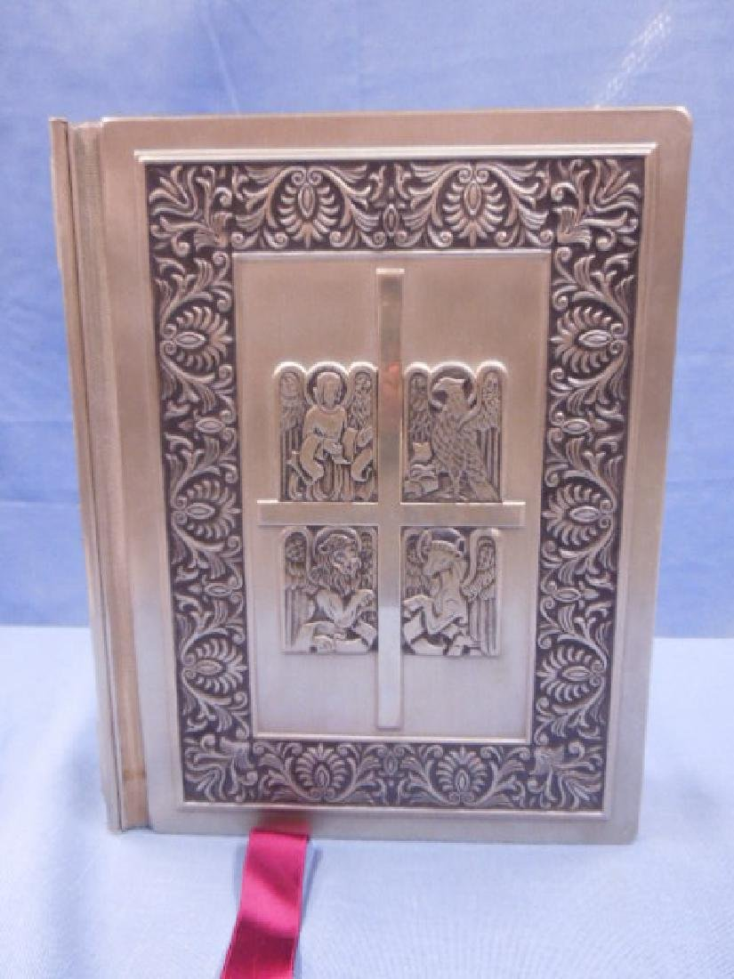 Franklin Mint Silver Family Bible