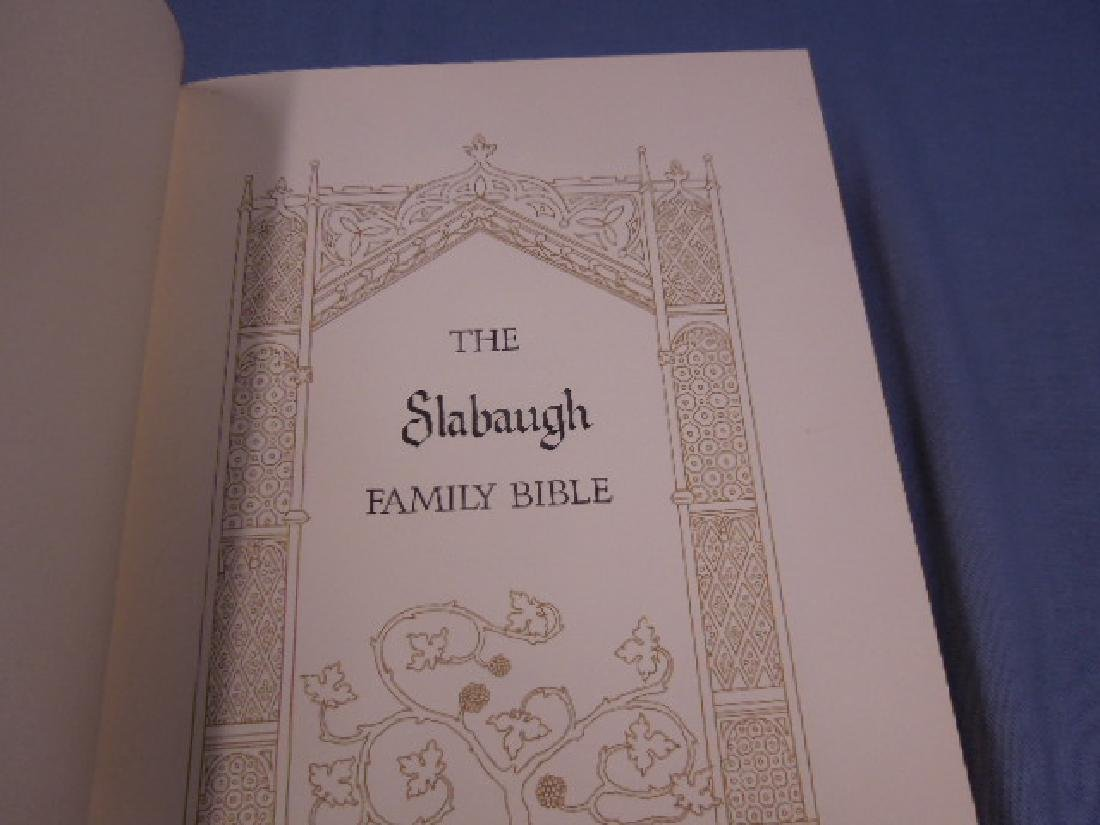Franklin Mint Silver Family Bible - 4