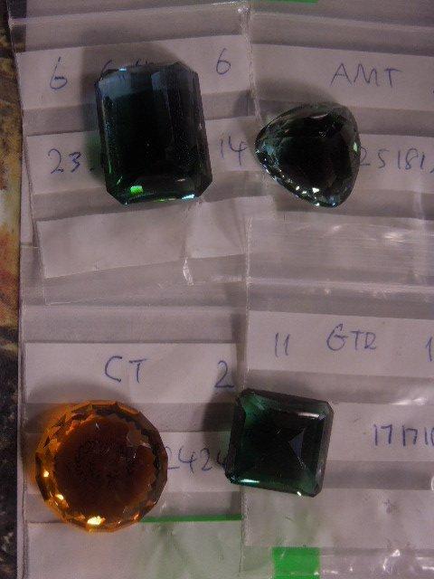 4 Assorted Large Gemstones