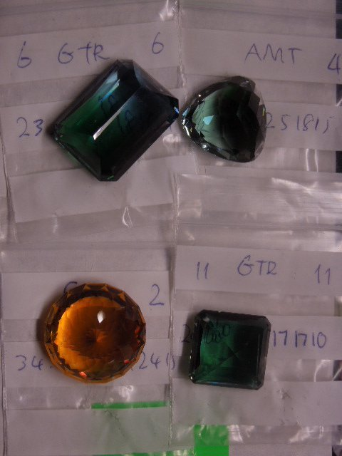 4 Assorted Large Gemstones - 2