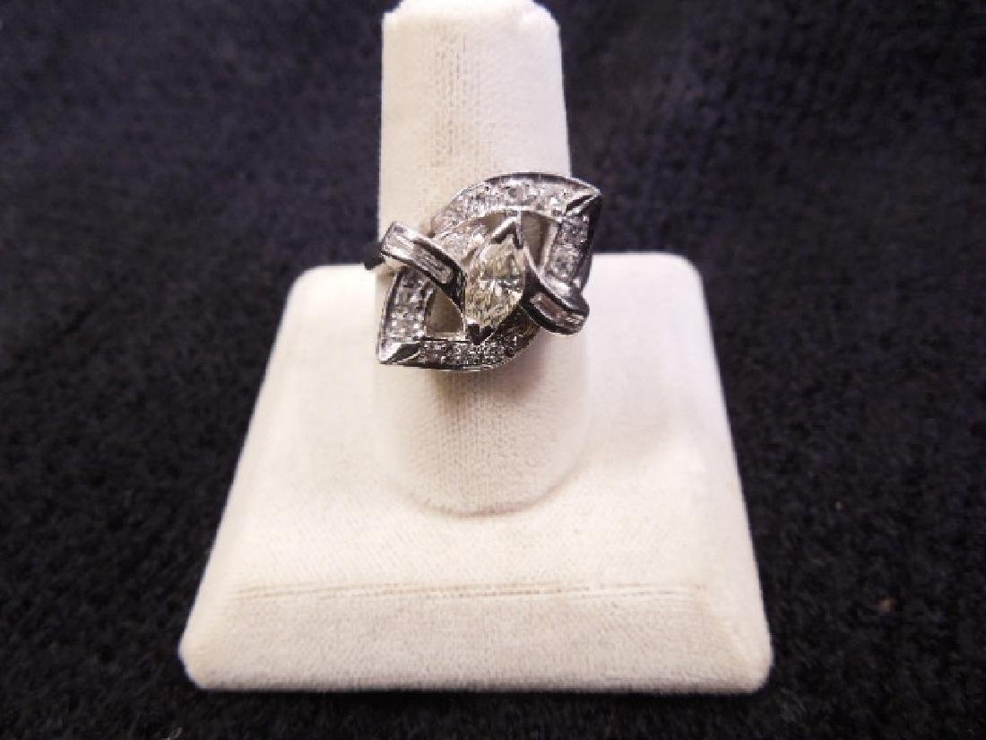 Diamond & Platinum Lady's Ring