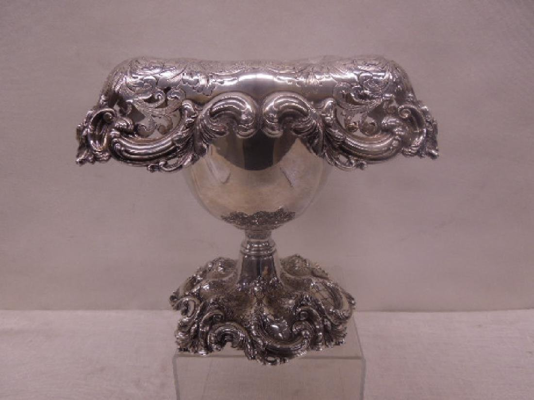 Frank Smith Sterling Silver Centerpiece
