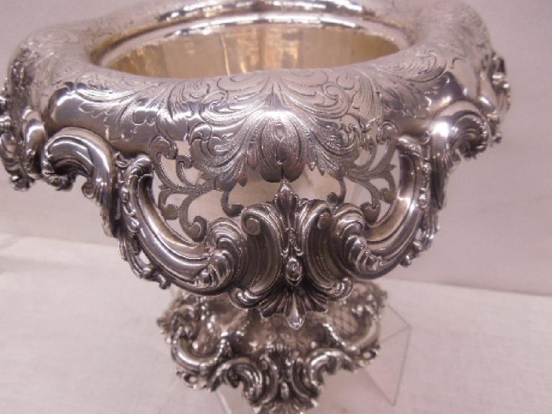 Frank Smith Sterling Silver Centerpiece - 4