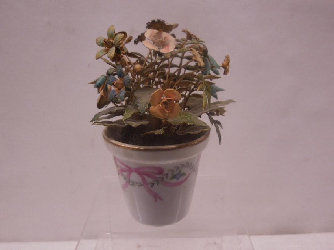 Jane Hutcheson Enamel Floral Bouquet