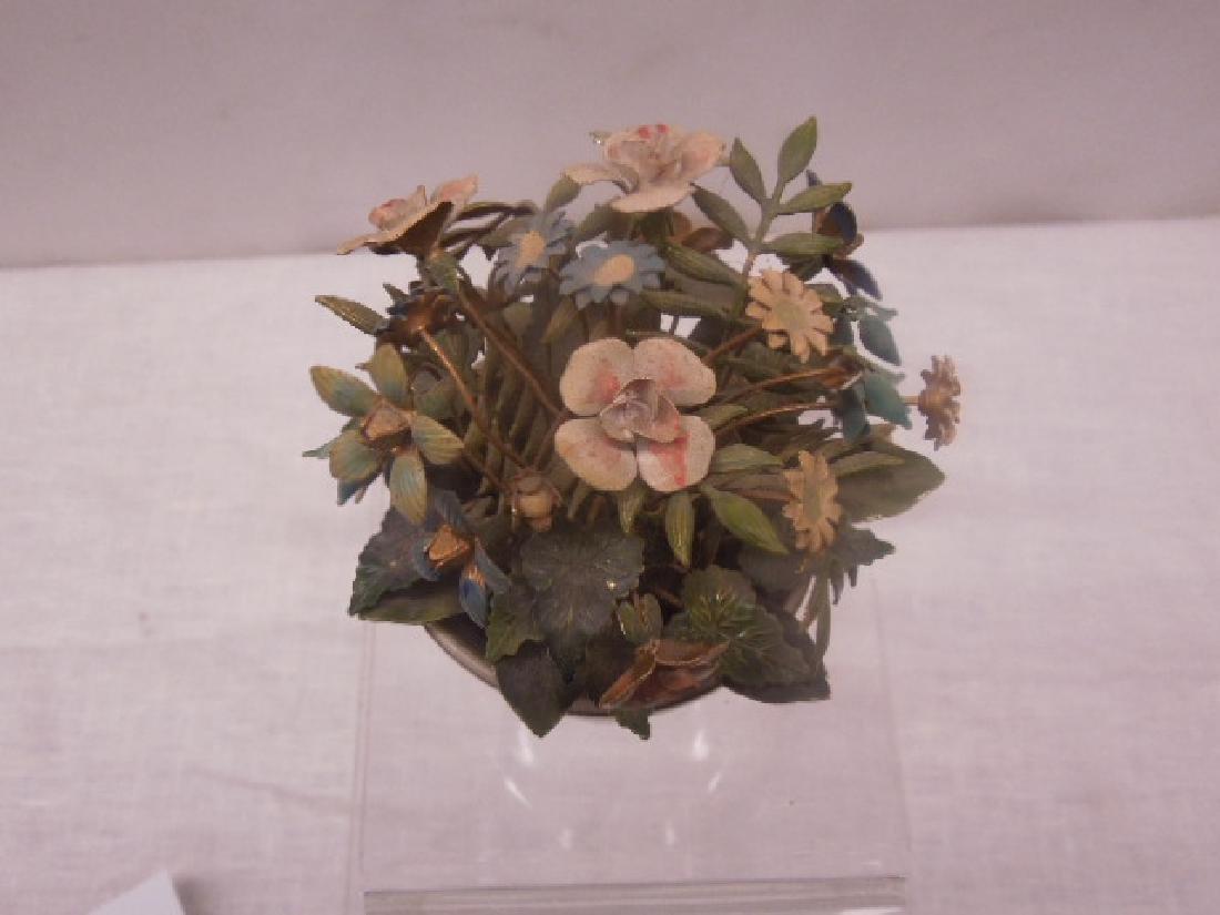 Jane Hutcheson Enamel Floral Bouquet - 2