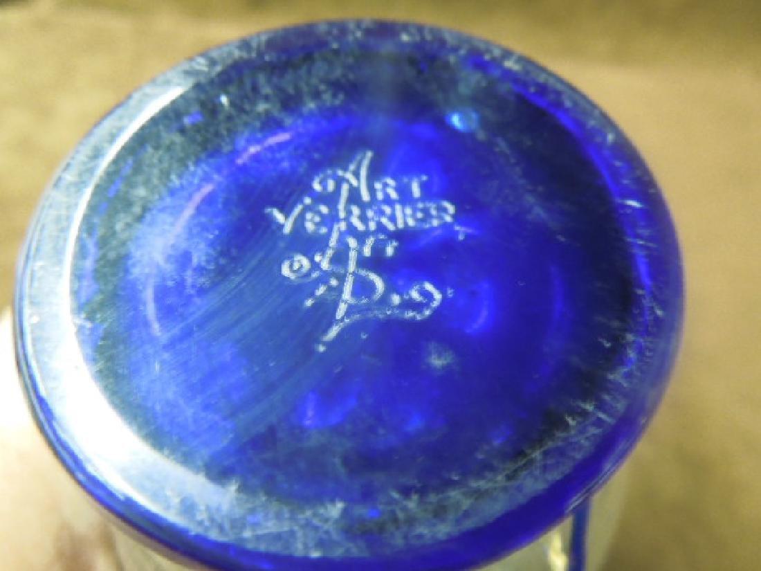 Val St. Lambert Art Glass Atomizer Lamp - 4