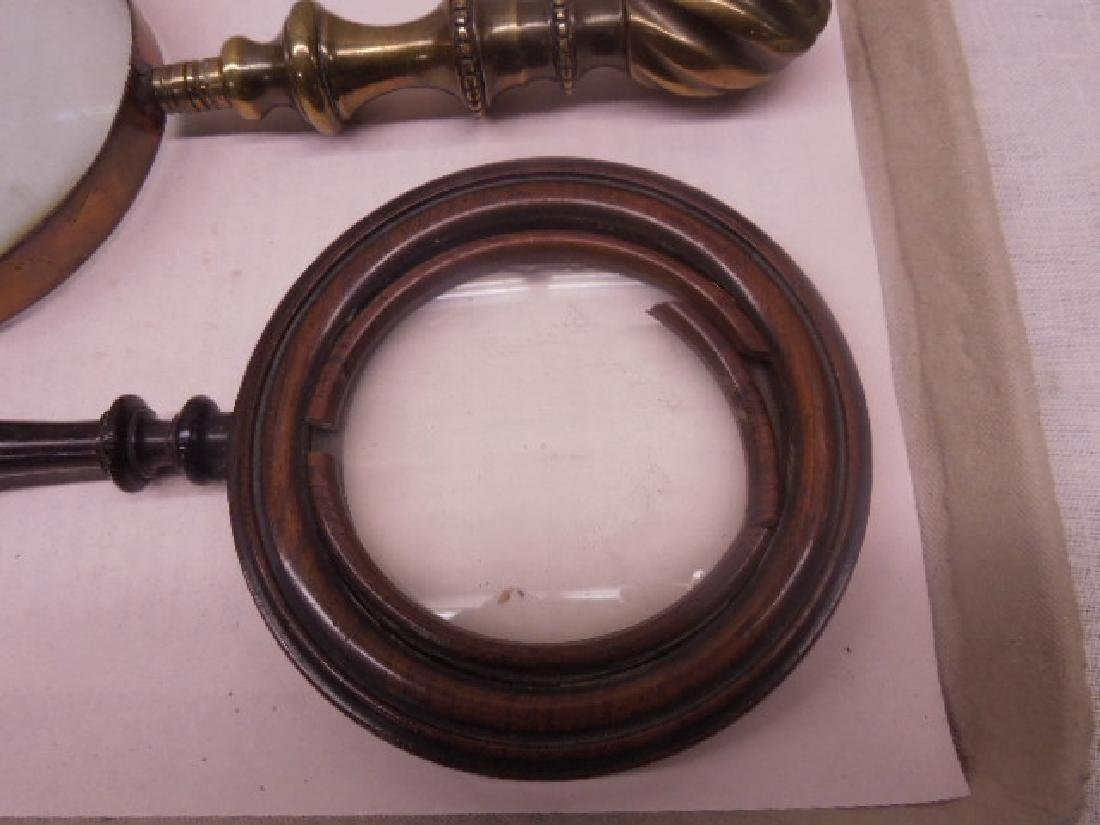 Antique Magnifying Glasses - 3
