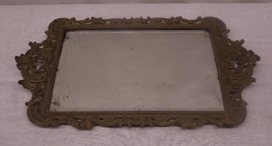 Continental Bronze Mirrored Tray