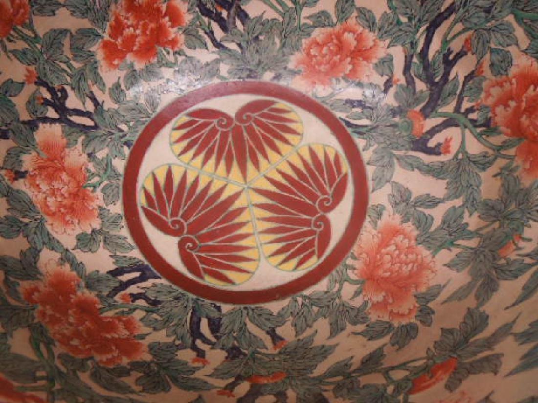 Antique Satsuma Pottery Fish Bowl - 5