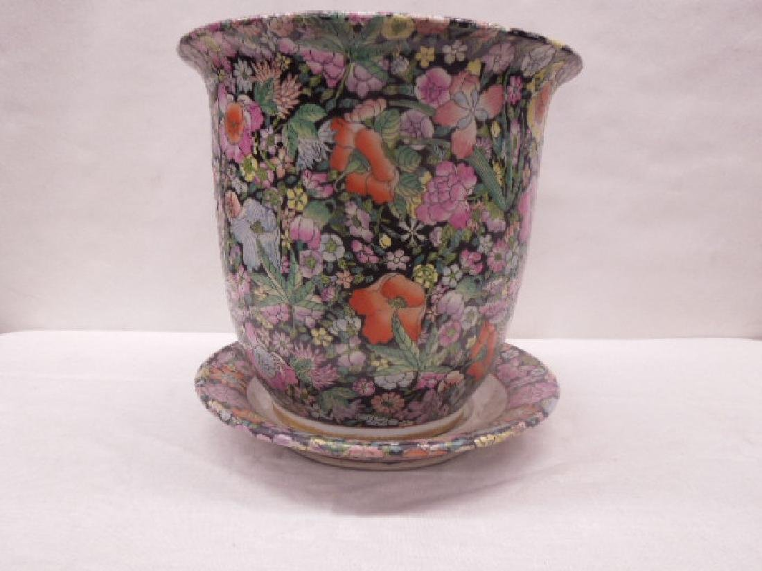 Contemporary Chinese Porcelain Planter