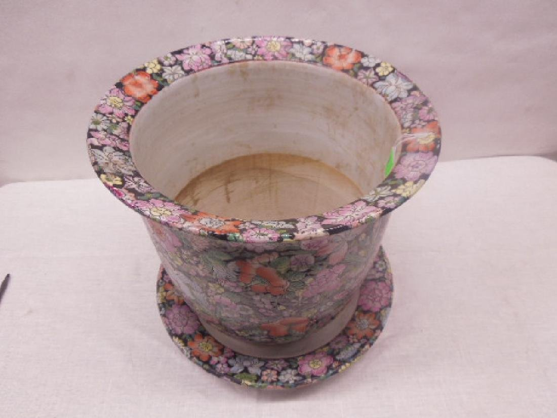 Contemporary Chinese Porcelain Planter - 2