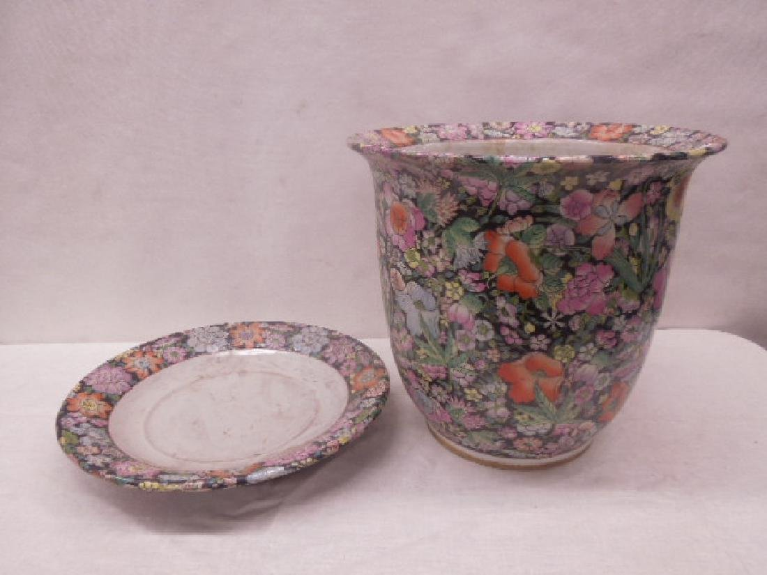 Contemporary Chinese Porcelain Planter - 3