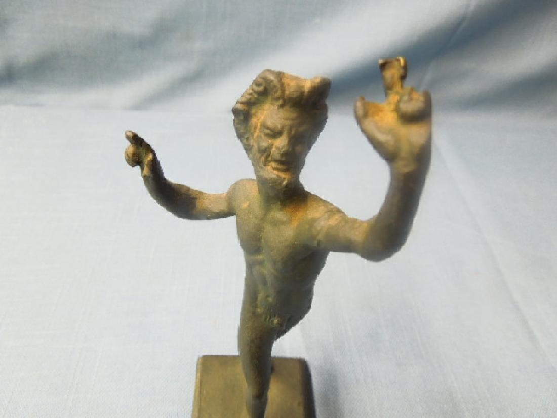 Continental Bronze Satyr/Faun Figure - 5