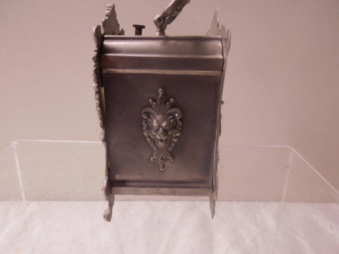 19th c. French Metal Carriage Clock - 3