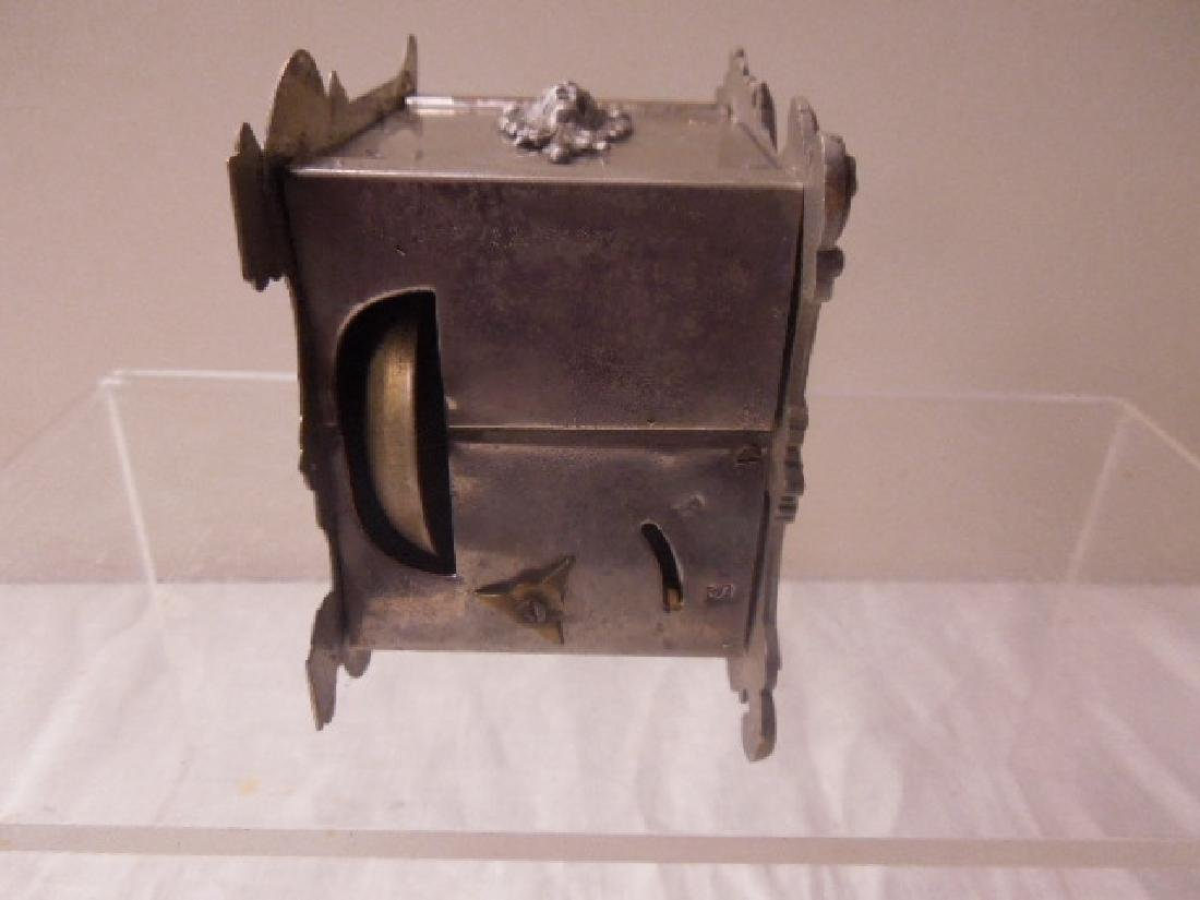 19th c. French Metal Carriage Clock - 6