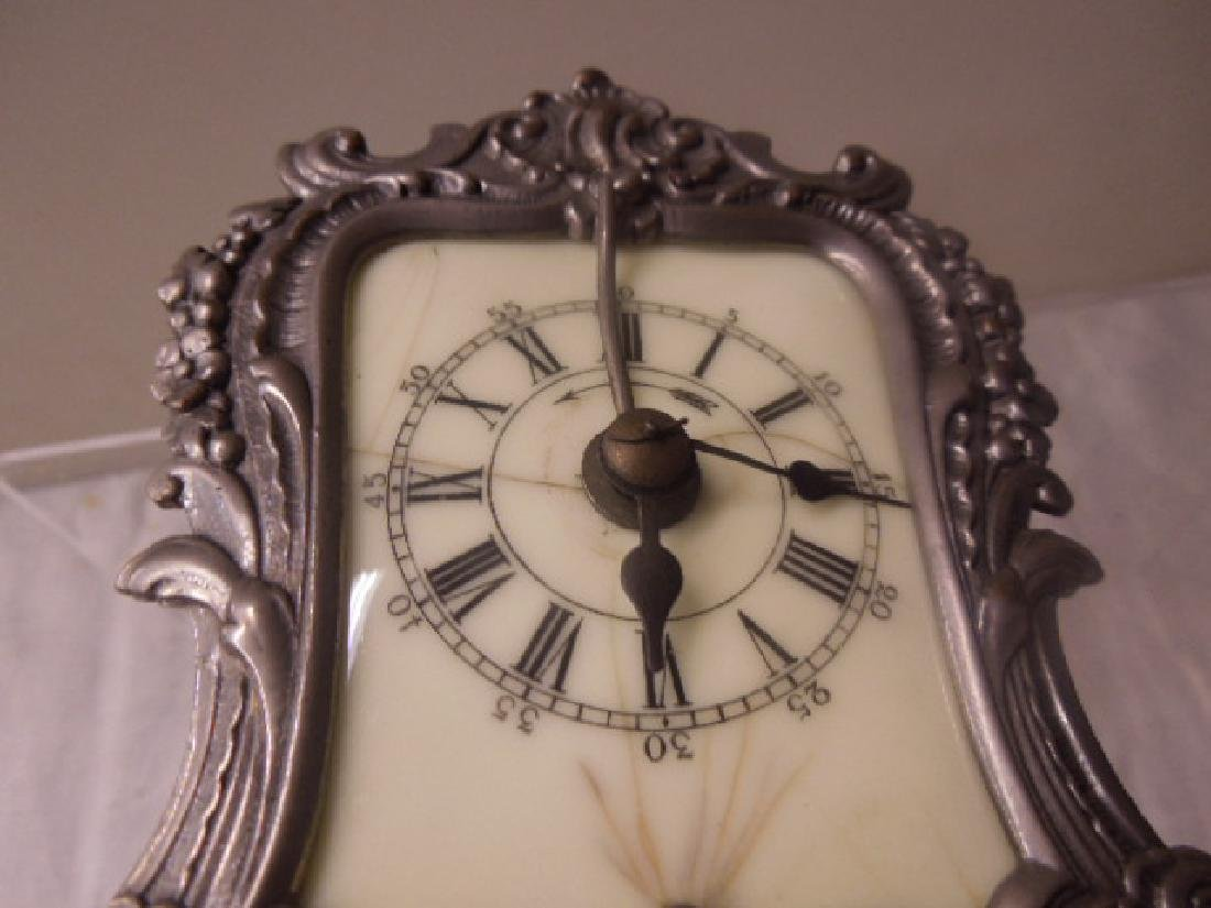 19th c. French Metal Carriage Clock - 7