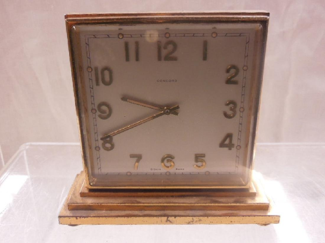 1960's Concord Double Sided Desk Clock