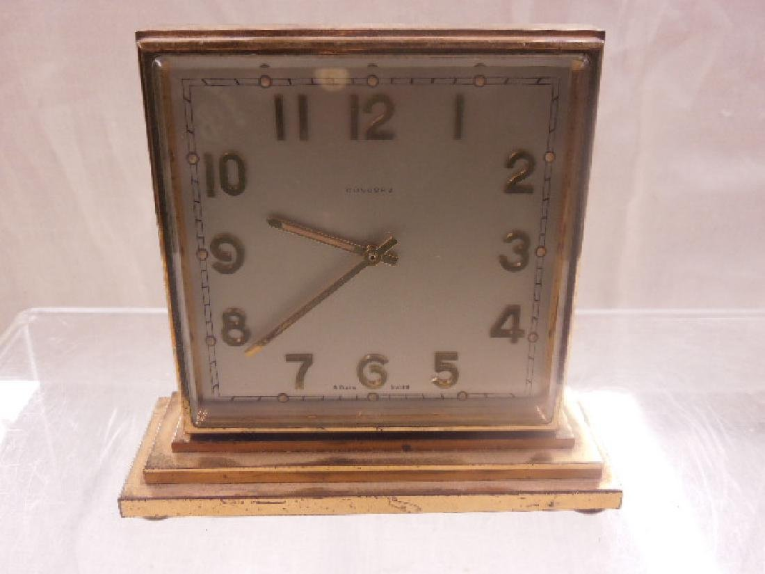 1960's Concord Double Sided Desk Clock - 2