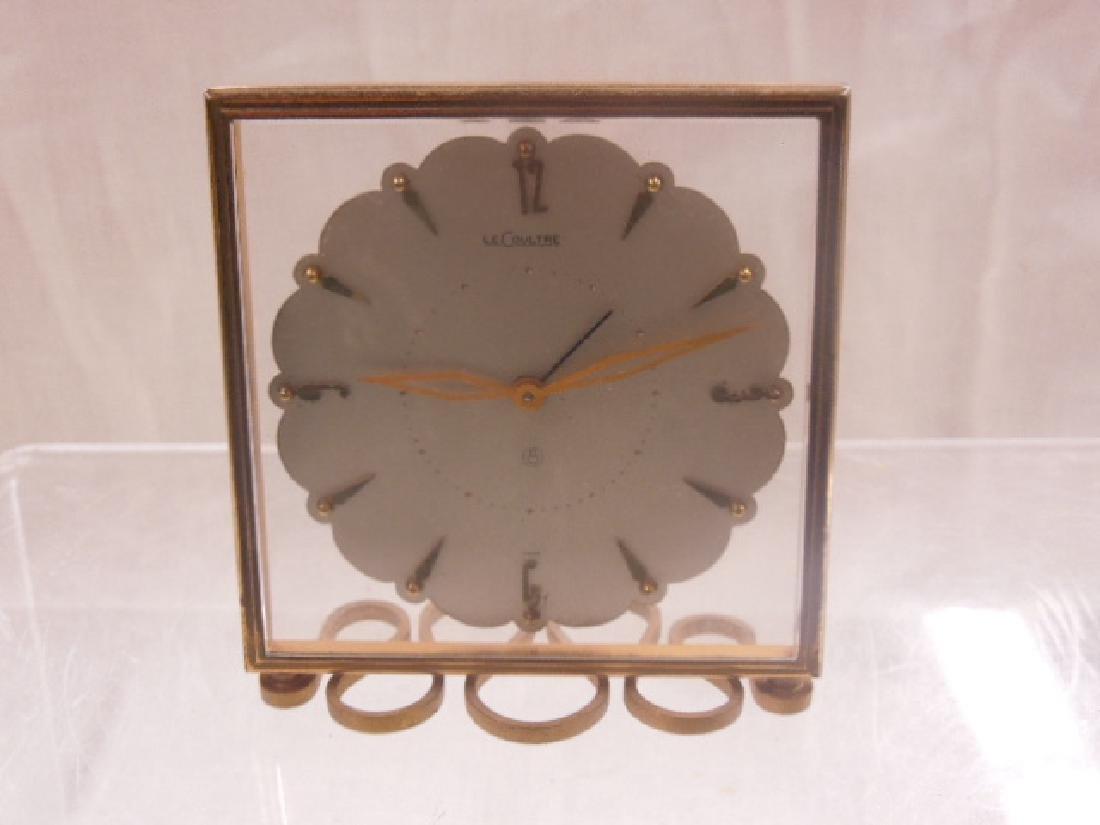 LeCoultre 8 Day Travel Alarm Clock