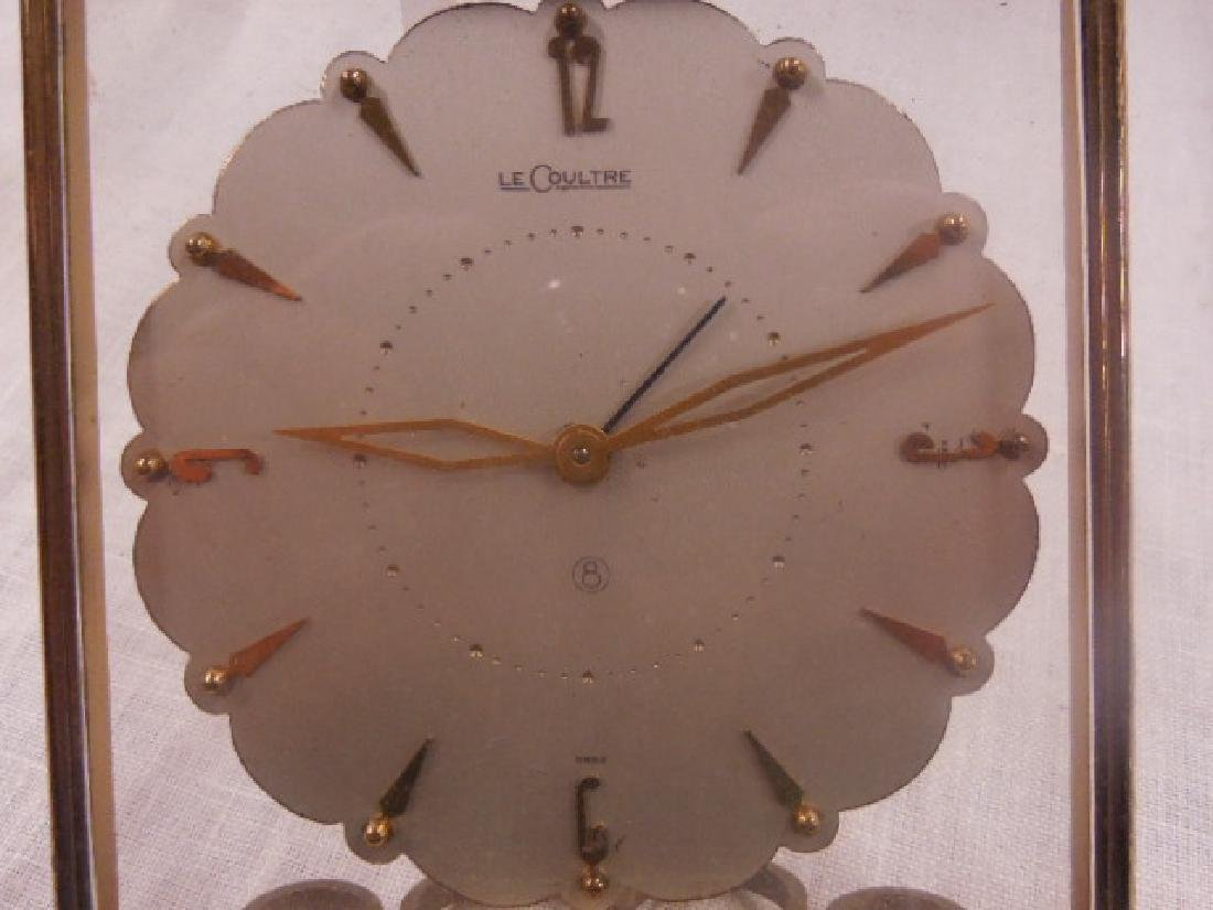 LeCoultre 8 Day Travel Alarm Clock - 4