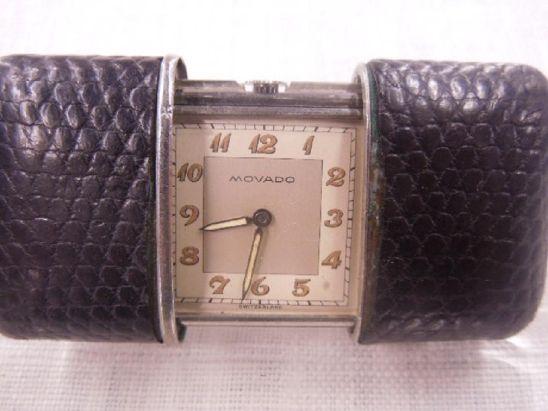 1940's Movado Ladies Purse Watch - 2