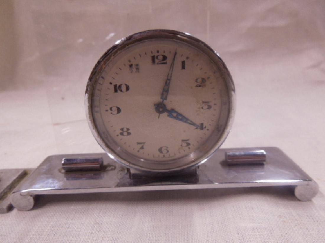 Vintage Thermometers & Desk Clock - 2
