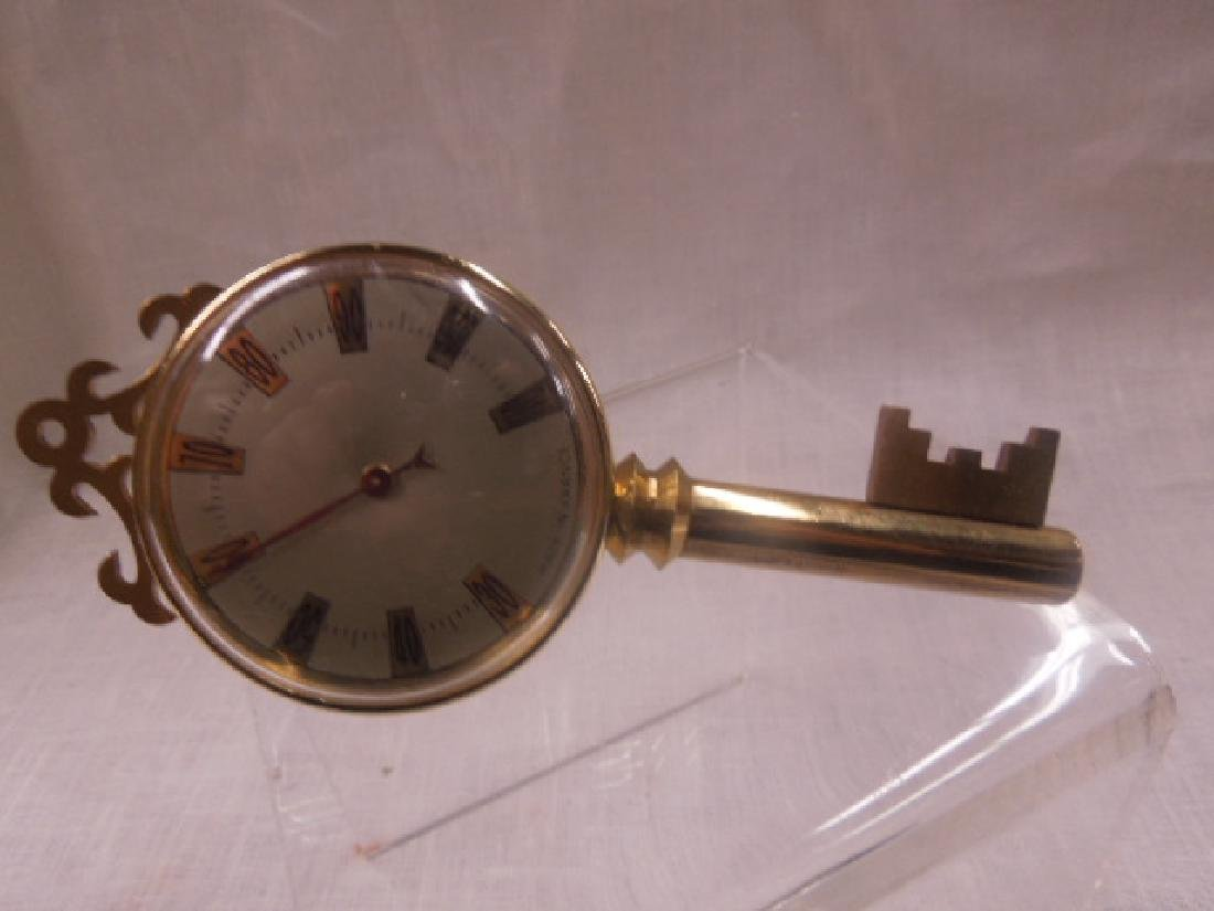 Vintage Thermometers & Desk Clock - 4