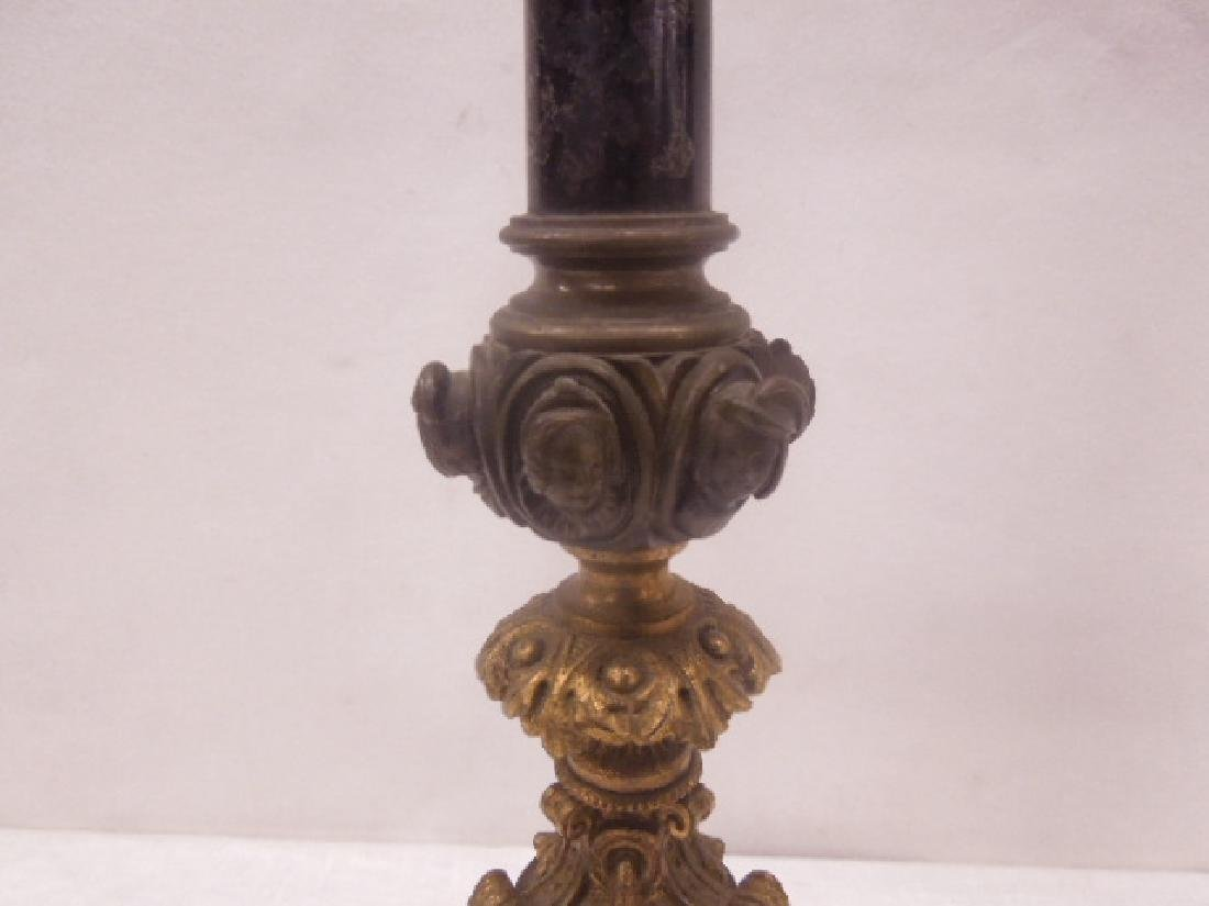 Continental Bronze 3-Light Candelabra - 6