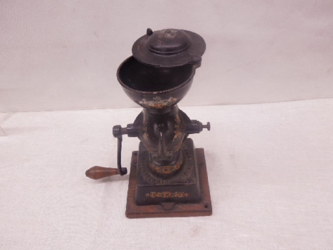 Enterprise No. 1 Cast Iron Coffee Grinder - 2