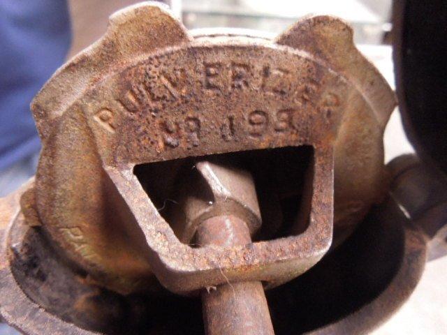 Enterprise No. 1 Cast Iron Coffee Grinder - 9