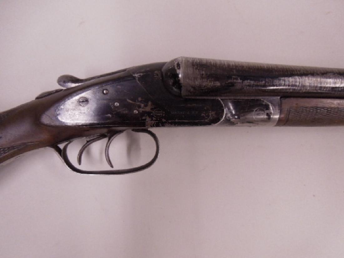 Batavia 12 Gauge Twin Barrel Shotgun - 2