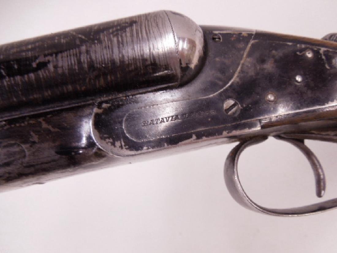 Batavia 12 Gauge Twin Barrel Shotgun - 8