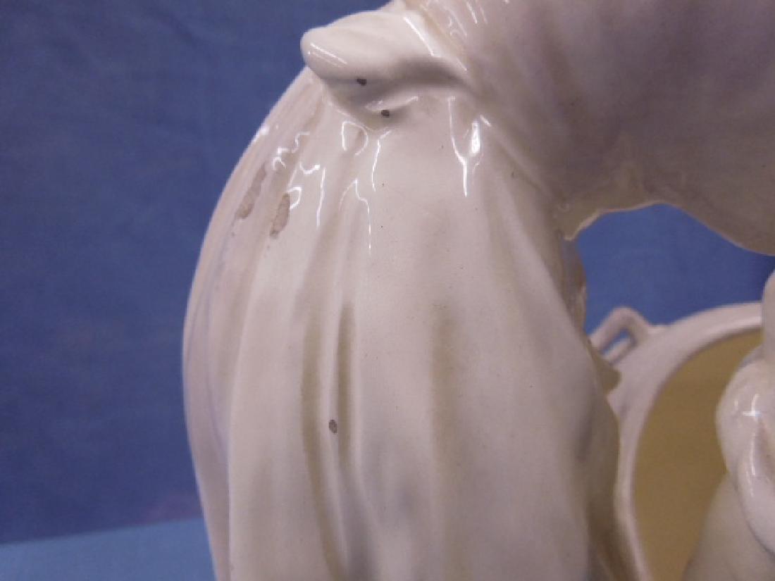 Friedrich Goldscheider Pottery Vase - 4