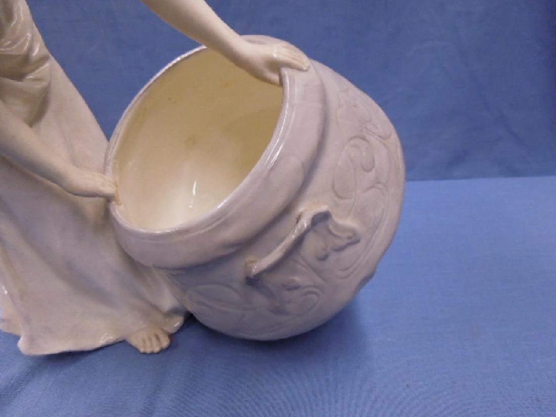 Friedrich Goldscheider Pottery Vase - 5