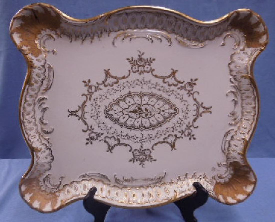Paris Porcelain Dresser Tray