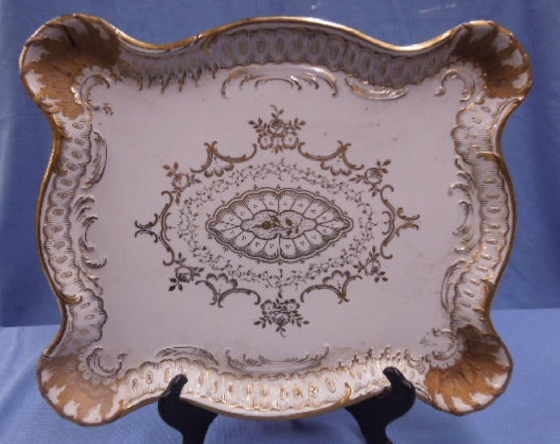 Paris Porcelain Dresser Tray - 4