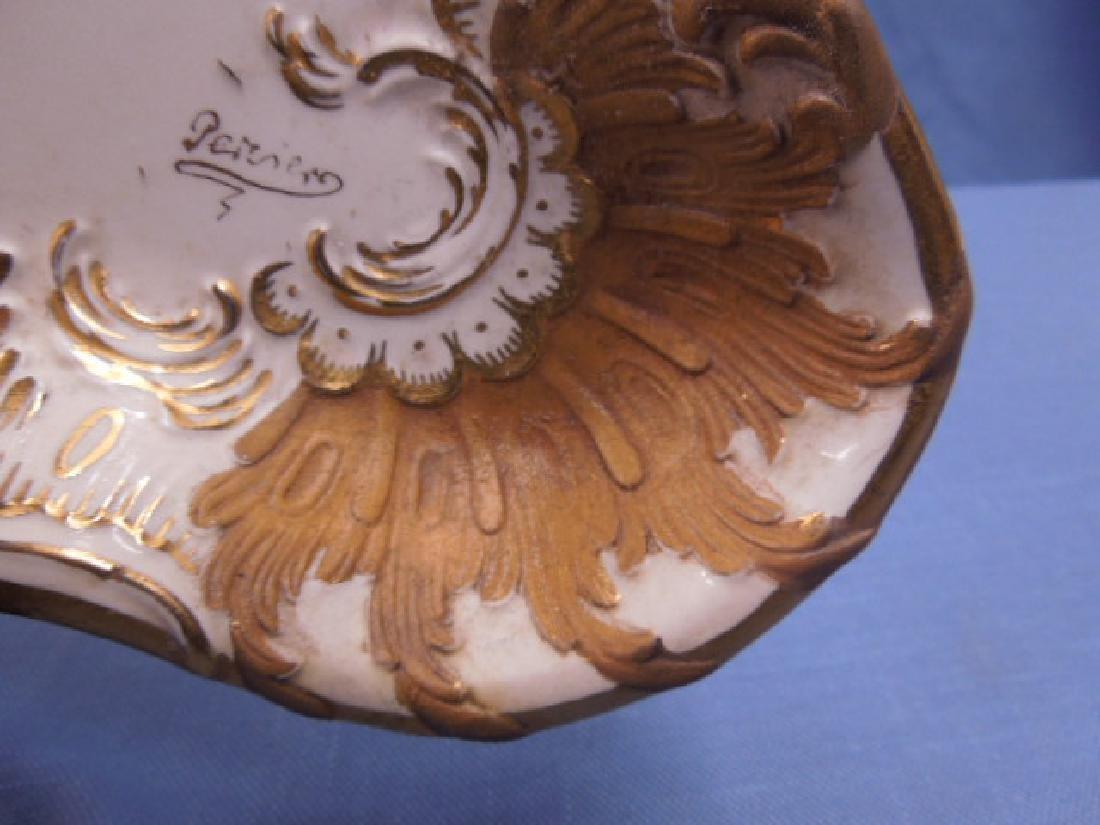 Paris Porcelain Dresser Tray - 6