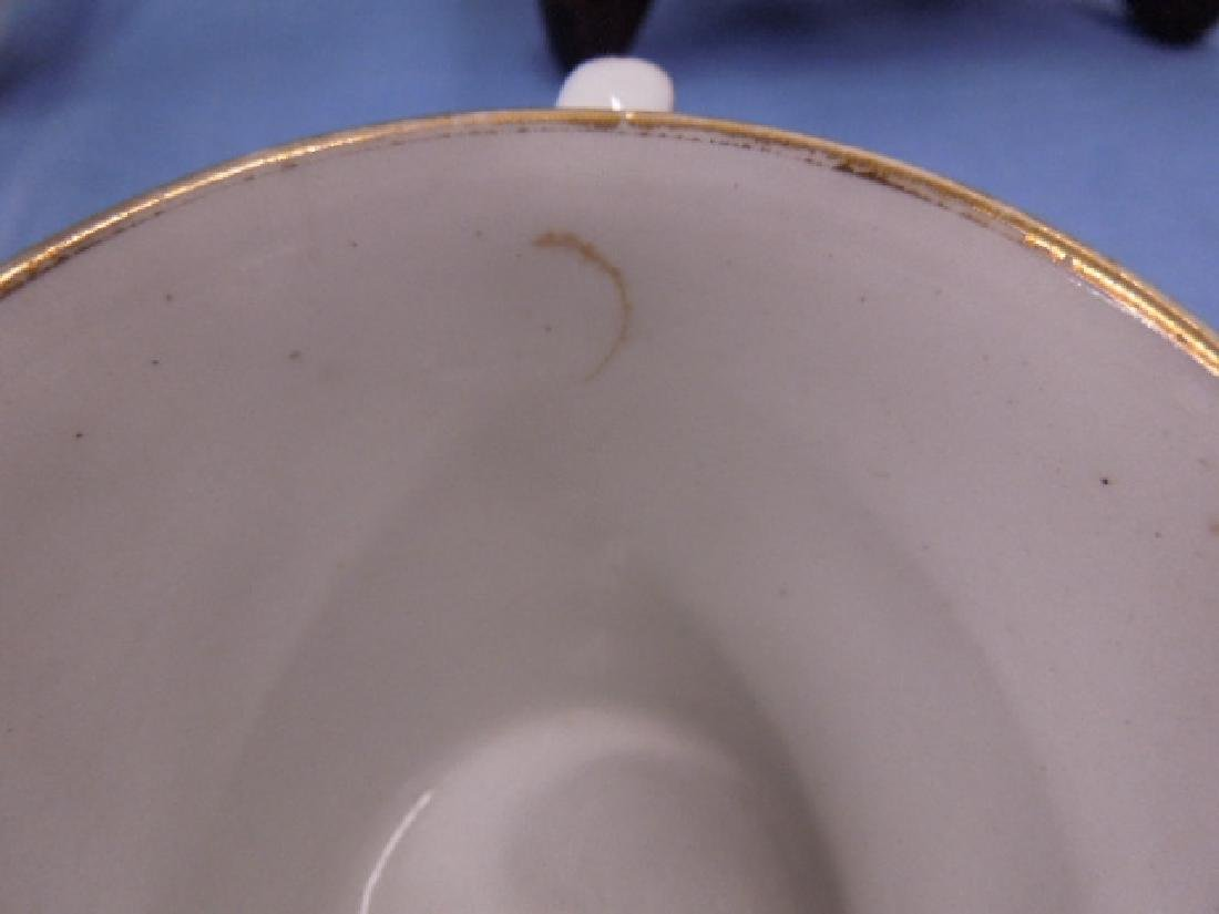 18th c. Caughley Cup, Saucer & Plate - 3