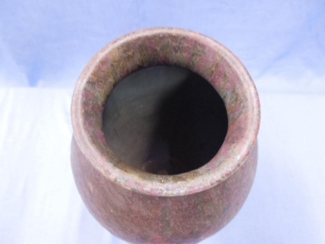 Roseville Pottery Co. Carnelian II Vase - 5