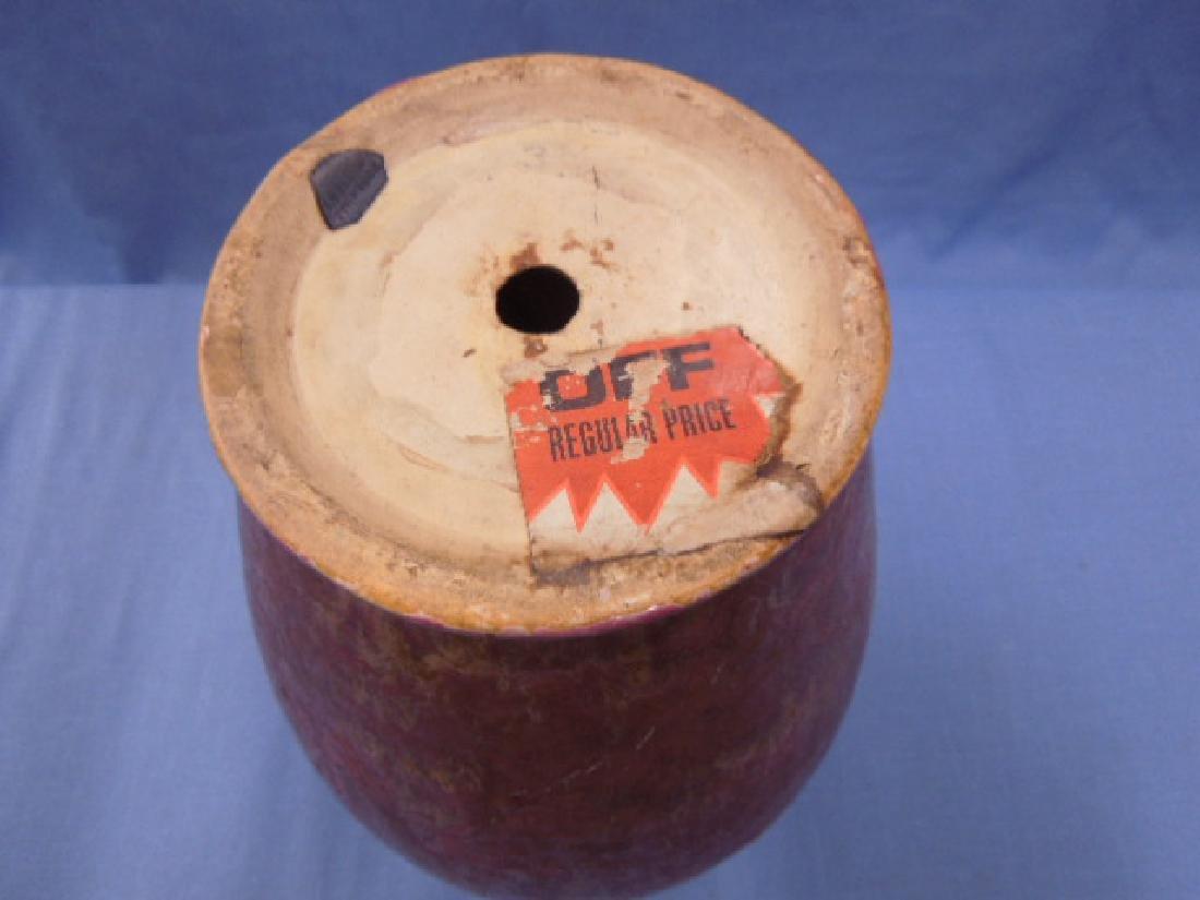Roseville Pottery Co. Carnelian II Vase - 6