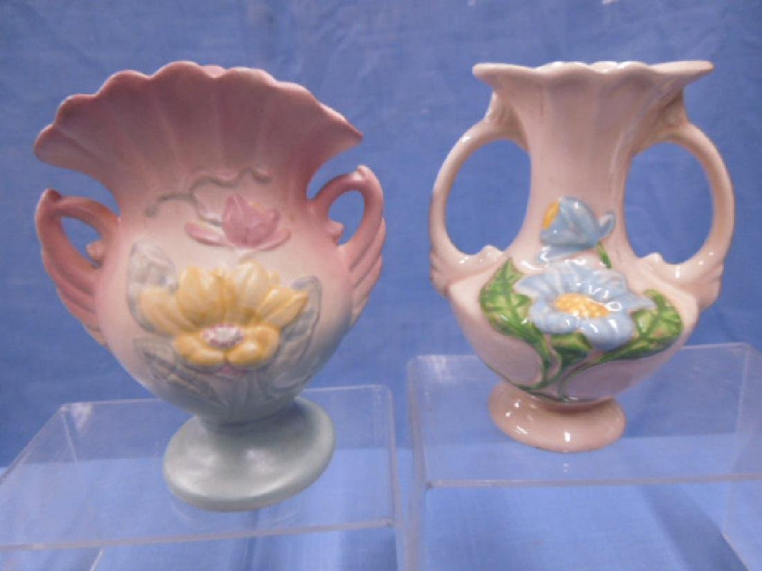 Hull Art Pottery Vases - 4