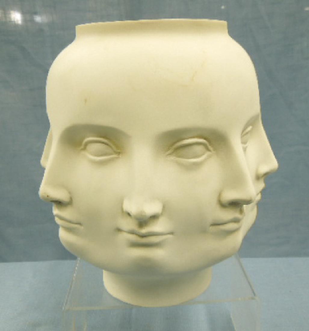 Piero Fornasetti Style Multi Face Vase